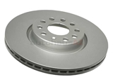 5C0615301B ATE Coated Disc Brake Rotor; Front