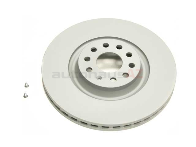 5Q0615301G ATE Coated Disc Brake Rotor