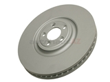 C2P12622 ATE Coated Disc Brake Rotor; Front