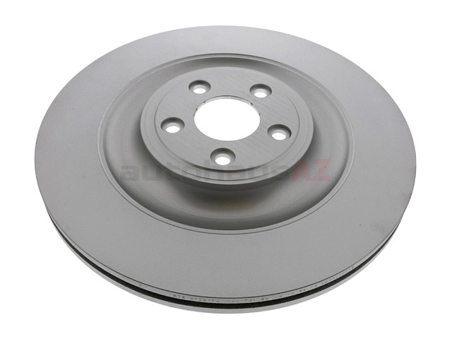 AT-C2P13648 ATE Coated Disc Brake Rotor; Rear
