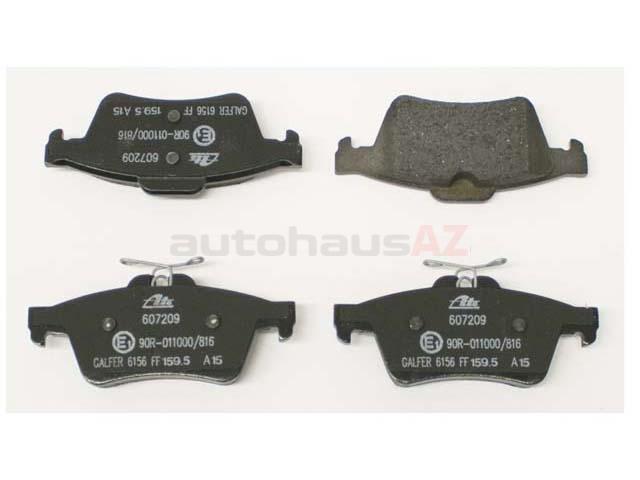 For Jaguar S-Type Vanden Plas XF XJ8 Set of Front /& Rear Disc Brake Pads Genuine