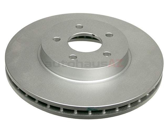 C2S52091 ATE Coated Disc Brake Rotor; Front