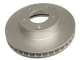 JLM20341 ATE Coated Disc Brake Rotor; Front