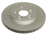 XR858224 ATE Coated Disc Brake Rotor