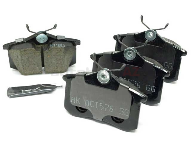 1K0698451J Akebono Euro Brake Pad Set