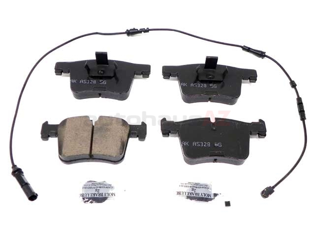 34106856191 Akebono Euro Brake Pad Set