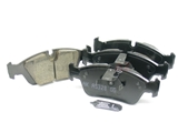 34116761244 Akebono Euro Brake Pad Set