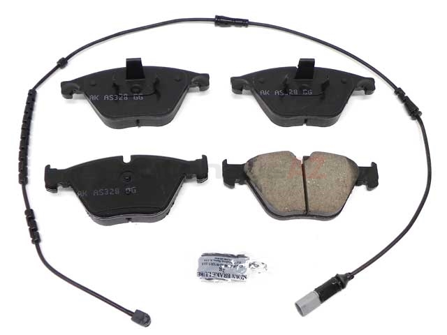 34116871557 Akebono Euro Brake Pad Set