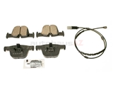 34206799813 Akebono Euro Brake Pad Set