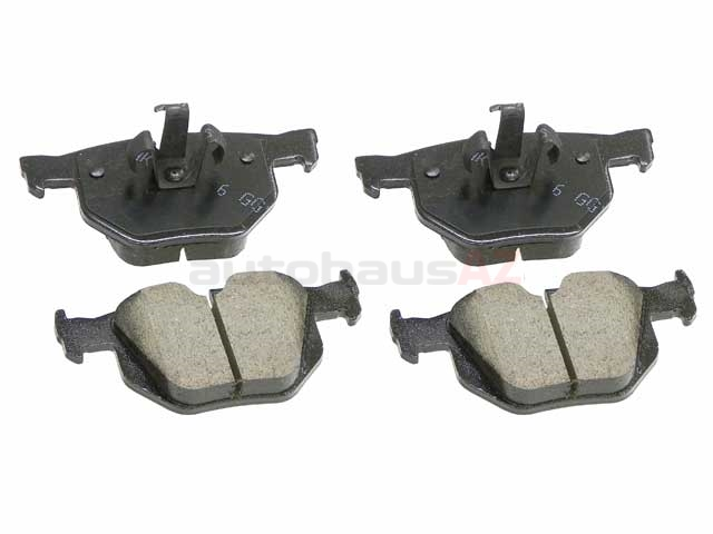 34216775678 Akebono Euro Brake Pad Set