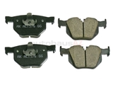 34216776937 Akebono Euro Brake Pad Set