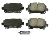 3C0698451C Akebono Euro Brake Pad Set