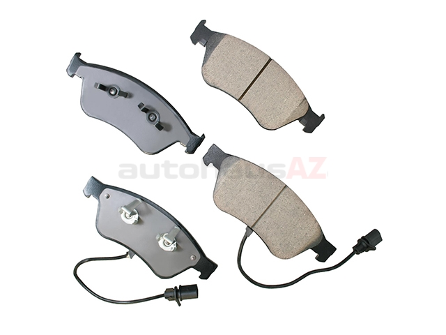 4E0698151 Akebono Euro Brake Pad Set