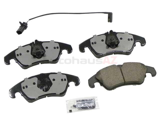 Akebono Euro 4G0698151D, EUR1322A Brake Pad Set