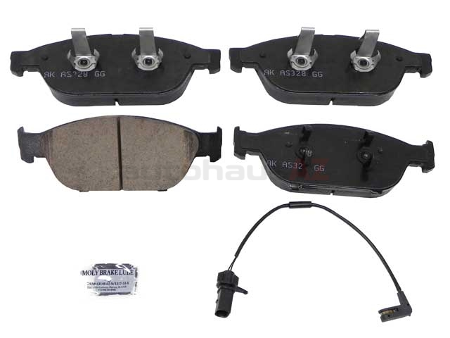 4G0698151S Akebono Euro Brake Pad Set