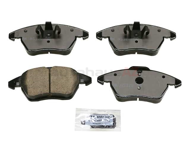 5C0698151A Akebono Euro Brake Pad Set