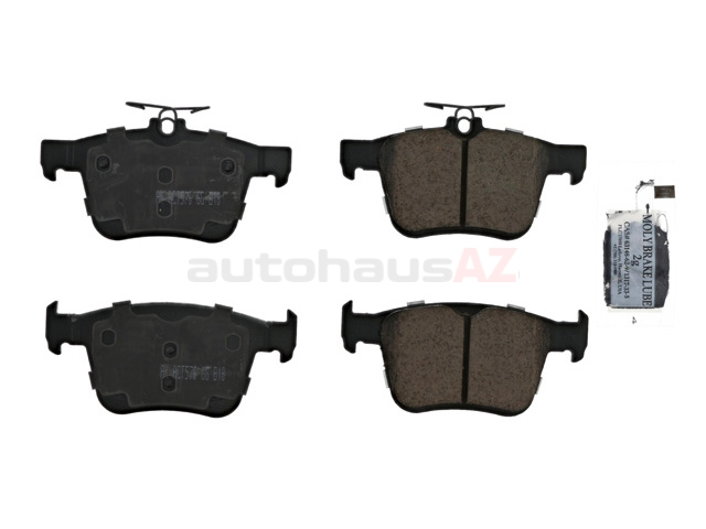 5Q0698451P Akebono Euro Brake Pad Set