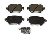 7N0698451A Akebono Euro Brake Pad Set
