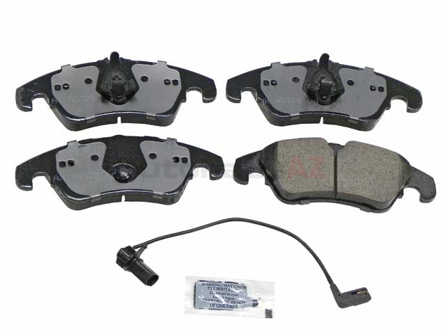 8K0698151J Akebono Euro Brake Pad Set
