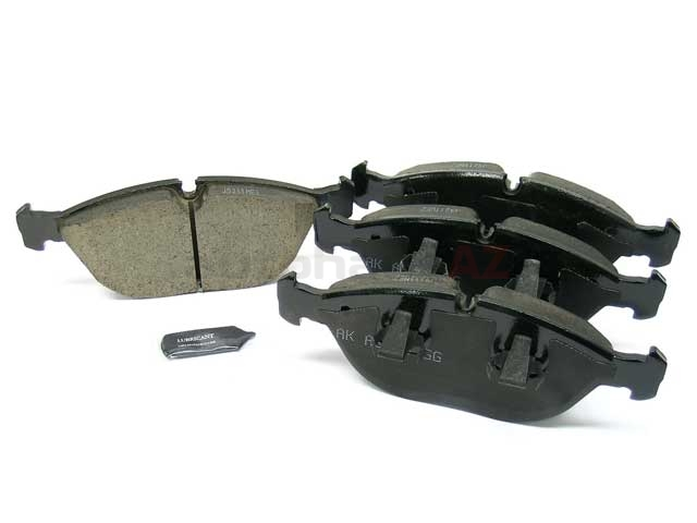 8N0698151D Akebono Euro Brake Pad Set