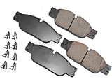 C2C23786 Akebono Euro Brake Pad Set