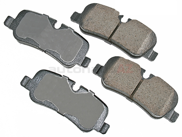 LR015519 Akebono Euro Brake Pad Set