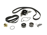 AUD1TIMINGCOMPKIT AAZ Preferred Timing Belt Kit with Water Pump