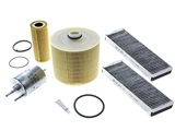 AUDIFLTR2KIT AAZ Preferred Oil Filter Kit; Oil, Air, Fuel and Cabin Filters; KIT