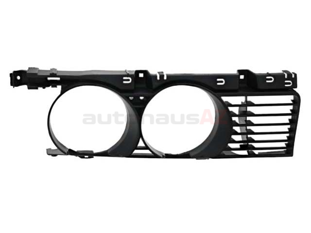 51131944137 BBR Automotive Grille; Front Left; Narrow Kidney Style