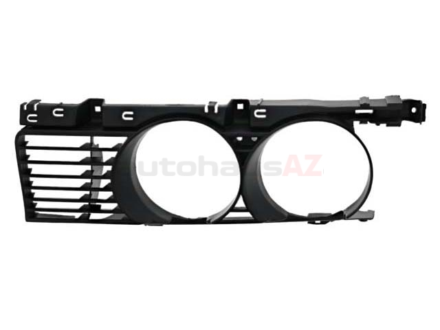 51131944138 BBR Automotive Grille; Front Right; Narrow Kidney Style