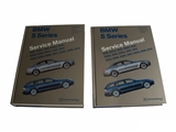B510 Robert Bentley Repair Manual - Book Version; 2004-2010 5 Series E60/61 Chassis; OE Factory Authorized