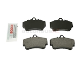 98635293910 Bosch Blue Brake Pad Set