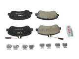 BC1406 Bosch QuietCast Ceramic Brake Pad Set; Front