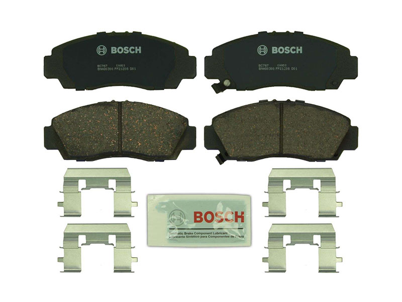 BC787 Bosch QuietCast Ceramic Brake Pad Set; Front