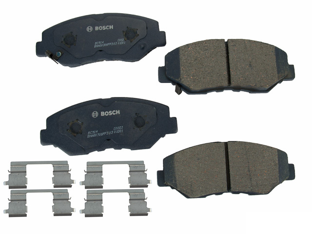 BC914 Bosch QuietCast Ceramic Brake Pad Set; Front