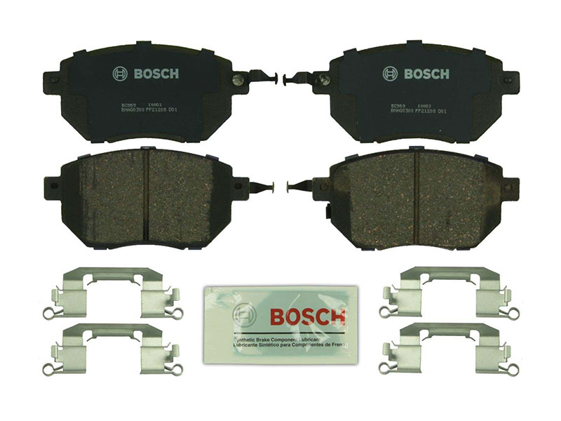 BC969 Bosch QuietCast Ceramic Brake Pad Set; Front