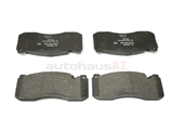 34116786044 Bosch Euroline Brake Pad Set