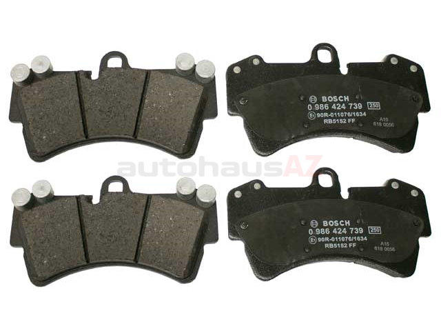 95535193916 Bosch Euroline Brake Pad Set