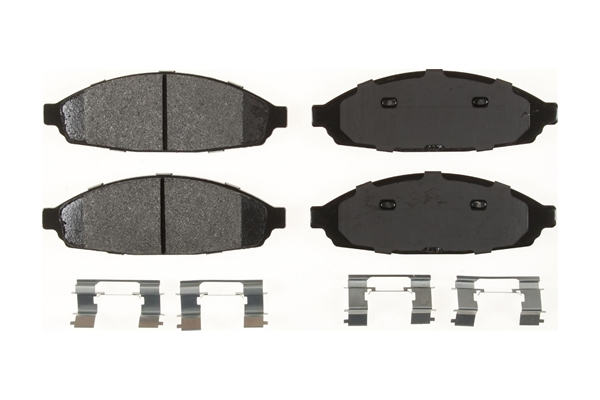 MKD931FM Bendix Brake Pad Set; Bendix Fleet MetLok