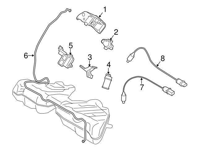 11787589121 Genuine BMW Oxygen Sensor