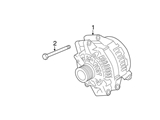 BM-12317591530 Genuine BMW Alternator