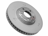 BM-34116785670 Genuine BMW Disc Brake Rotor; Directional Vented 348x36mm