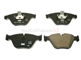 BM-34116871557 Genuine BMW Brake Pad Set