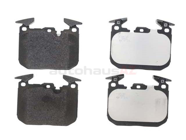 34116878882 Genuine BMW Brake Pad Set; Front