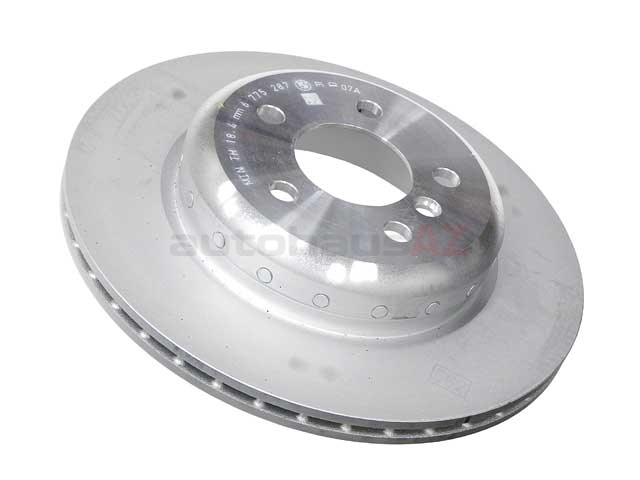 34216775287 Genuine BMW Disc Brake Rotor; Rear,