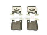 34216887576 Genuine BMW Brake Pad Set; Rear