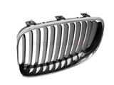 51137166439 Genuine BMW Grille; Left; Chrome with Black Grille