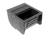 BM-51168159698 Genuine BMW Center Console Insert; Black