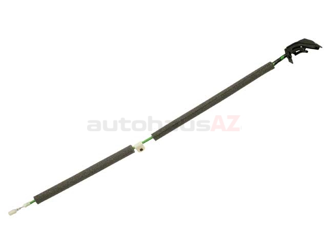 BM-51217024644 Genuine BMW Door Latch Cable; Front Right; Handle to Lock