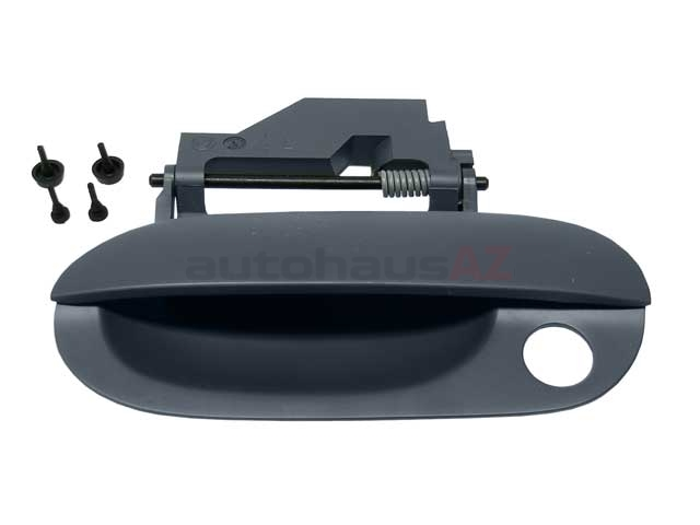 BM-51218166971 Genuine BMW Door Handle, Exterior; Front Left; Primered